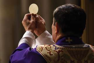 A new Angus Reid Institute survey shows that Catholics have been missing the Eucharist and parish community as churches have been in lockdown to deal with COVID-19.