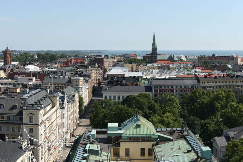 Vanessa Chan sees her time studying abroad in Helsinki, Finland, pictured, as a new spiritual frontier.