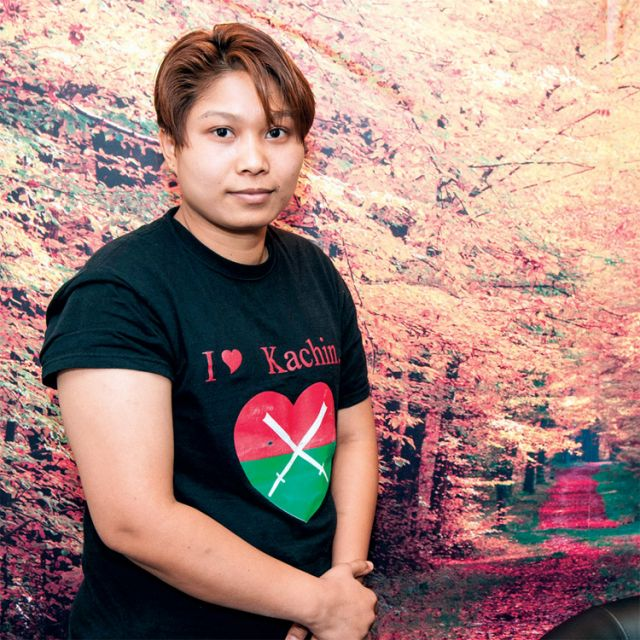 Pri Ja N-Jang, a Catholic Kachin living in Toronto, is reaching out to Canadians for support for her people.