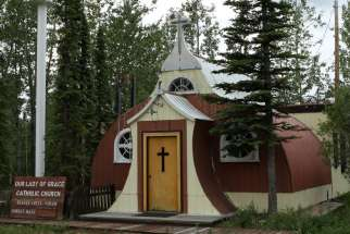 Our Lady of Grace, Beavercreek, Yukon Territory
