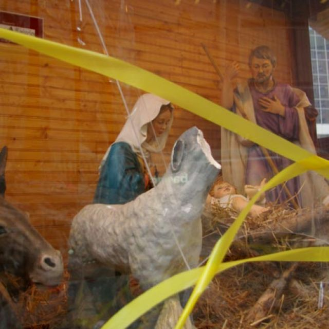 The Nativity scene at Old City Hall in Toronto has been vandalized six times in seven years.