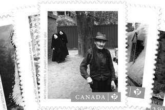 Michel Lambeth's St. Joseph's Convent School has been released on a stamp by Canada Post.