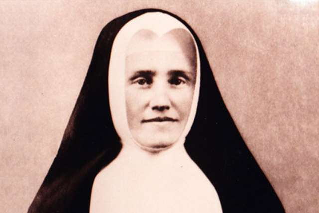 Marie-Elisabeth Turgeon, the Canadian founder of the Sisters of Our Lady of the Holy Rosary.