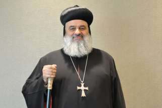Patriarch Aphrem, head of the Syrian Orthodox Church.