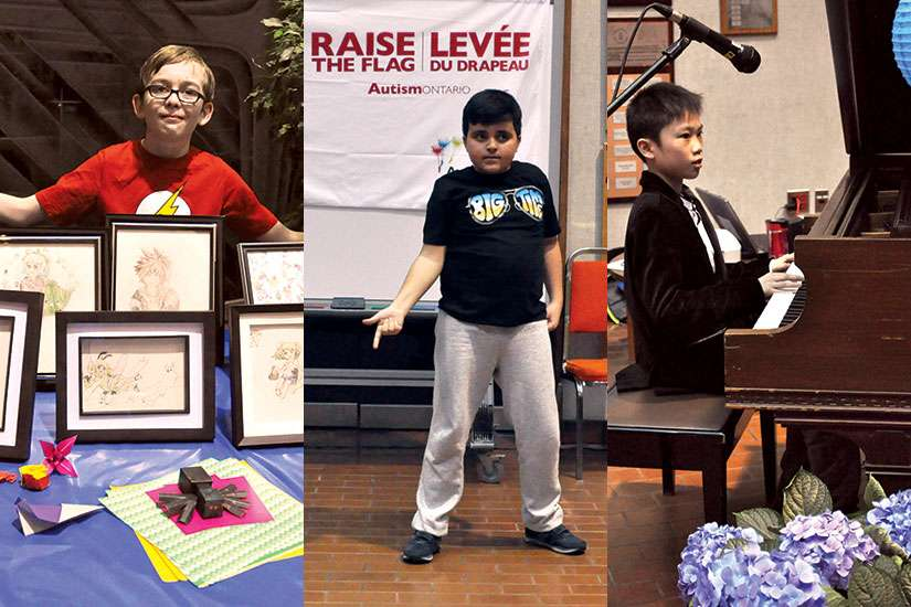 Catholic students showcased their unique gifts March 31 to break stereotypes about autism.
