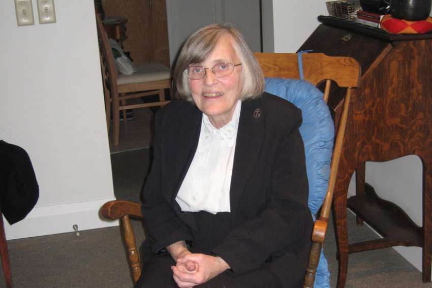Sr. Sue Moran, co-founder of Out of the Cold, died of a heart attack Dec. 19.
