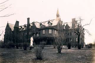 The Sacred Heart Children's Orphanage, or Sunnyside Orphanage, was run by the Sisters of St. Joseph.