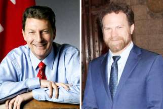 "A letter from Liberal MP John McKay (left) has surfaced in which he called the attestation a ""regrettable error."" Liberal MP Scott Simms (right) was the only MP to vote for the Conservative motion March 19 that would have lifted the attestation."