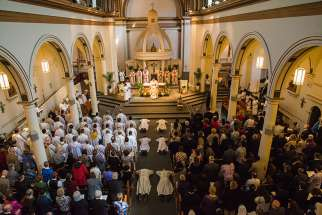 The Jesuit ordinations at Our Lady of Lourdes in Toronto May 20.