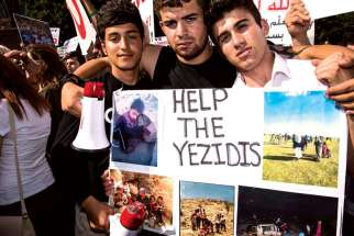 Hundreds of Yezidis took to Toronto streets last summer to call attention to the plight of minorities under Islamic State rule.