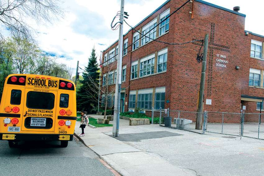 St. Paul Catholic School in downtown Toronto, which has been educating Catholic youth since 1842, is one of the schools the advocacy group Parents for Education said is slated for closure, though Catholic school officials say it won't happen until a replacement school is in place.