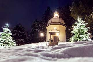 "The Silent Night Chapel, which is in the town of Oberndorf in the Austrian state of Salzburg, is a monument to ""Silent Night."" The chapel stands on the site of the former St. Nicholas Church, where on Christmas Eve in 1818 the carol was performed for the first time."