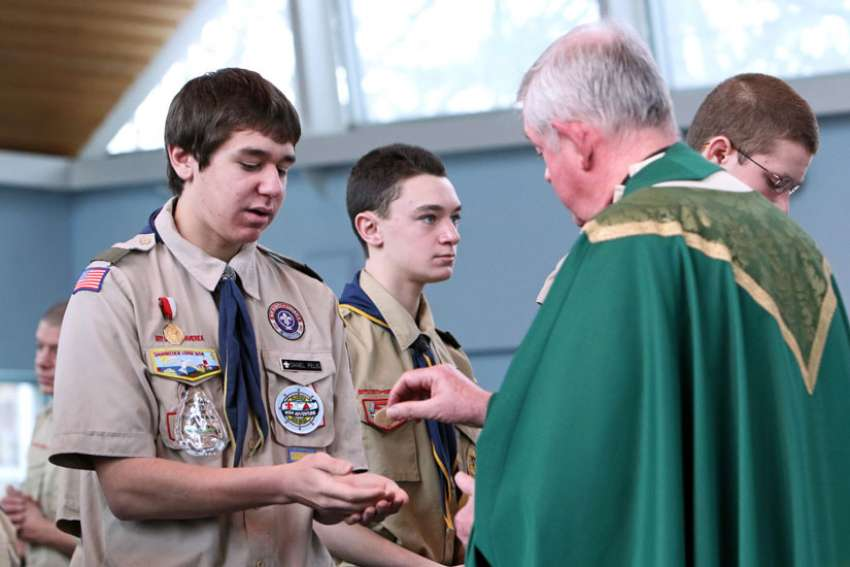 The National Catholic Committee on Scouting says the Boy Scouts of America's new policy regarding gender identity won't affect Scouting units sponsored by the Catholic Church.