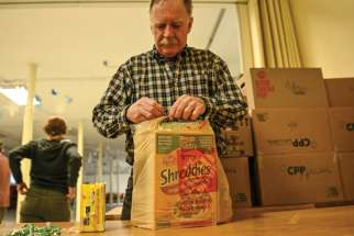 One of the big changes during the pandemic has been the increased reliance on food banks.