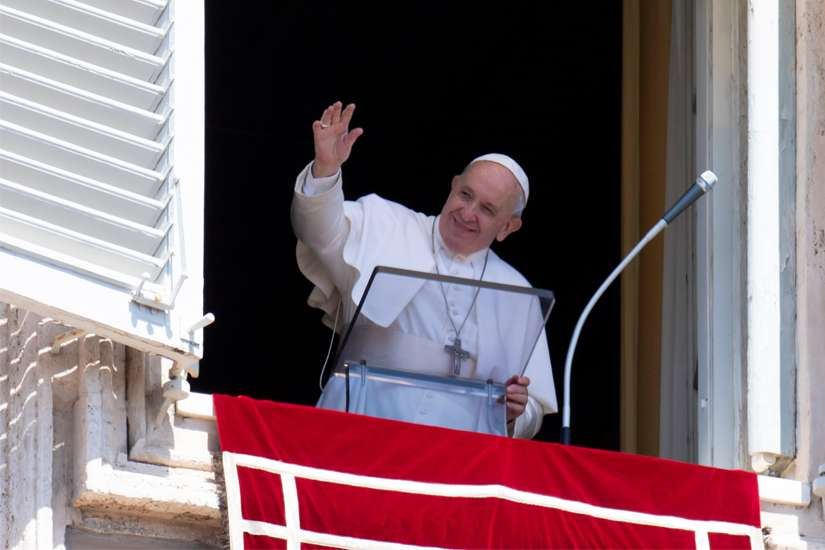 Angelus: Climbers are in the church, too