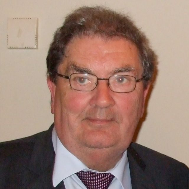 John Hume, a founder-member of Northern Ireland's mainly Catholic SDLP political party