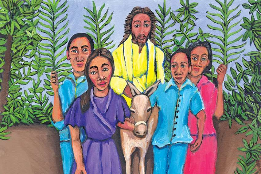 Michele Wood's art is featured in the Lenten book Keeping the Seasons: Reproducibles for Lent — Triduum — Easter 2017.