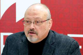 Jamal Khashoggi in undated photo.