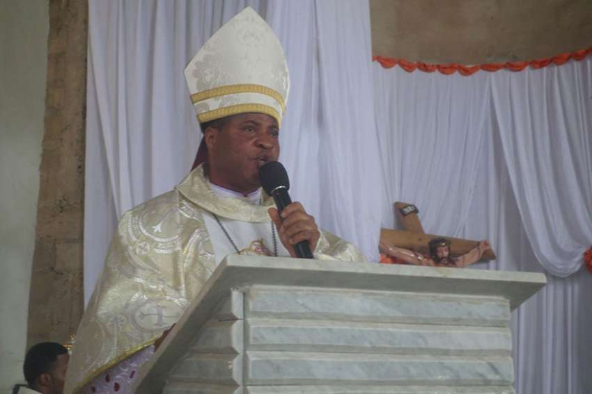 Pope Francis told the priests of Diocese of Ahiara, Nigeria to accept Bishop Peter Ebere Okpaleke, who was appointed by Pope Benedict XVI in 2012, as their bishop or face suspension.