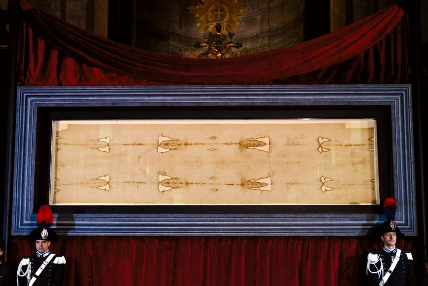 The Shroud of Turin will be the centre of attention for a conference in Ancaster, Ont., where speakers will explore the scientific and faith aspects of what many believe is the burial cloth of Jesus, seen here in Turin, Italy.