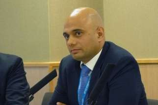 Sajid Javid, culture secretary in Prime Minister David Cameron's government.