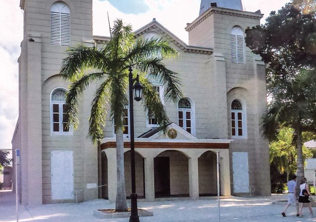 The Basilica of St. Mary of the Sea in Key West, Fla., provided the perfect spot for spiritual renewal for Ian Hunter on a recent Florida vacation.