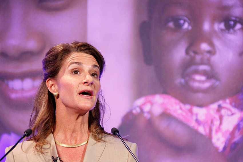 "In a recent BBC interview, Melinda Gates said she is ""optimistic"" that the Catholic Church will change church teaching on contraception in order to help women in developing countries."