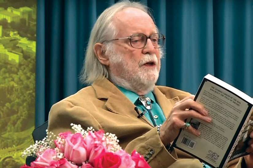 Author W.P. Kinsella, whose death was by assisted suicide.