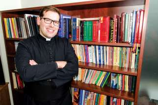 Fr. Matthew Hysell, the first deaf priest ordained in Canada. The Edmonton priest says there is more work to be done in deaf ministry in Canada.