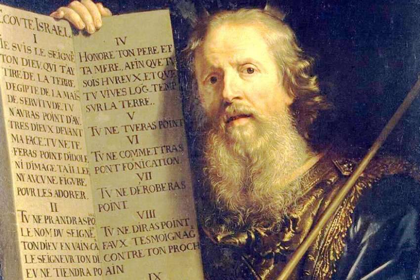 Moses with the Ten Commandments, Philippe de Champaigne, 1648