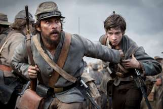 "Matthew McConaughey in the ""The Free State of Jones."""