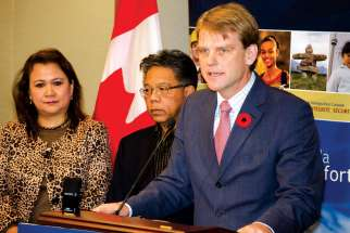Minister of Citizenship and Immigration Chris Alexander announced changes to the Live-in Caregivers Program aiming to eliminate the 60,000 permanent residency applications backlogged within two years.