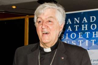 "Quebec bishop Noel Simard warns of a ""culture of death"" surrounding Canada's legalization of assisted suicide."