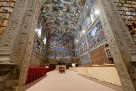 Endangered Sistine Chapel to be opened for outside fundraisers