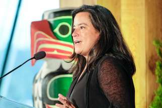 Jody Wilson-Raybould, former Minister of Justice & Attorney General of Canada.
