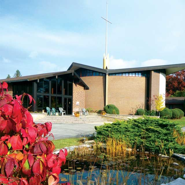 Queen of Apostles Renewal Centre is located on the banks of the Credit River in Mississauga, Ont.