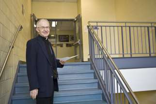 Not many Catholic schools still have clergy and religious on their teaching staff, but Fr. Zinger's love for young people kept him coming back to the classroom.