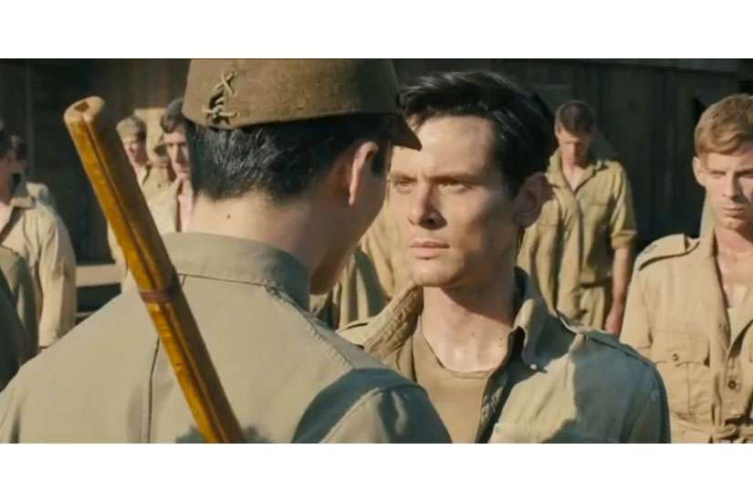 Jack O'Connell stars as Louis Zamperini in Unbroken, a movie about forgiveness that opens in theatres on Christmas Day.