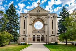 On July 22, 1968, the 1906 St. Boniface cathedral was damaged in a fire, destroying many features including the rose window. Only the facade, sacristy, and the walls of the old church remains.