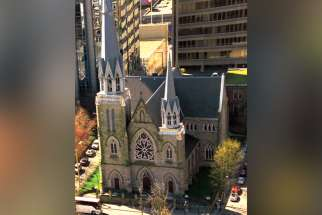 Holy Rosary Cathedral in Vancouver is looking at selling off part of its property to a developer.