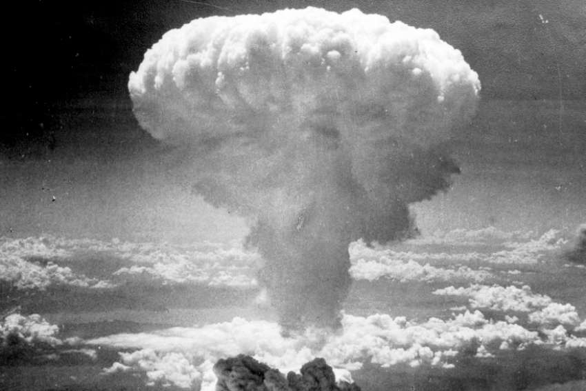 It's estimated the atomic bombs dropped on Hiroshima and Nagasaki killed more than 100,000 people.