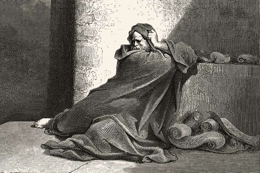 An image of Baruch from Gustave Doré's illustrations for La Grande Bible de Tours.