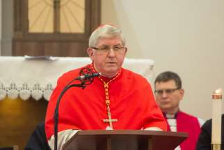Cardinal Thomas Collins at the Week of Prayer for Christian Unity in January.