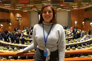 Genevieve Pinnington spent six months as a youth representative at the UN.