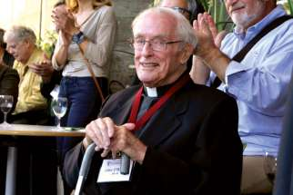 Jesuit Father Jack O'Brien started up the Department of Communication Arts in 1965 at Loyola College in Montreal. He died Nov. 7 at age 91.