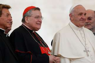 American Cardinal Raymond Burke is one of the four dubia cardinals to ask Pope Francis for an audience to address unclear exhortation in Amoris Laetitia.