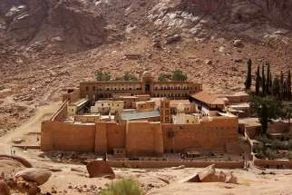 Gunmen opened fire at a police check point near Egypt's historic St. Catherine's Monastery April 18.