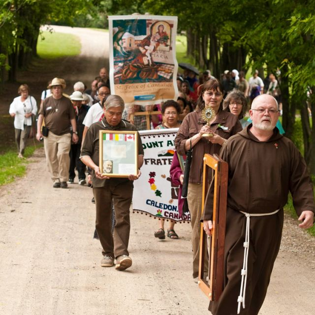 More than 250 people converged at Mount Alverno Retreat Centre June 24 for the first eve Franciscan Family Fest.