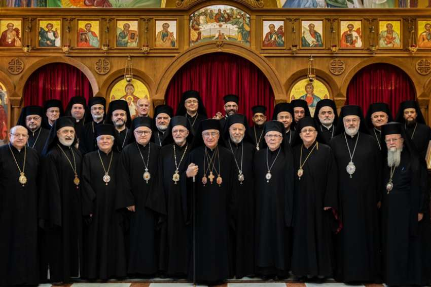 Melkite Catholic bishops from around the world gathered in Lebanon for their annual synod June 17-21, led by Melkite Catholic Patriarch Joseph Absi.