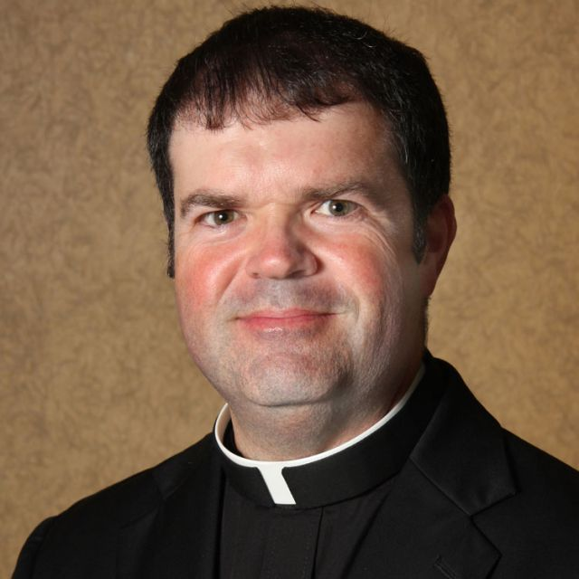 Father Scott Carroll, 46, lost his battle with cancer May 10, just two days after Bishop Leonard P. Blair of Toledo, Ohio, ordained him a priest at the family home in Maumee. Father Carroll is pictured in a 2012 photo.